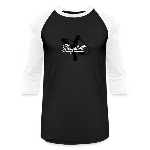 Exclusive Slingshott Logo - Baseball T-Shirt