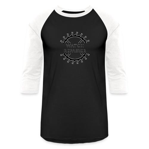 Watch Repairer Emblem - Unisex Baseball T-Shirt