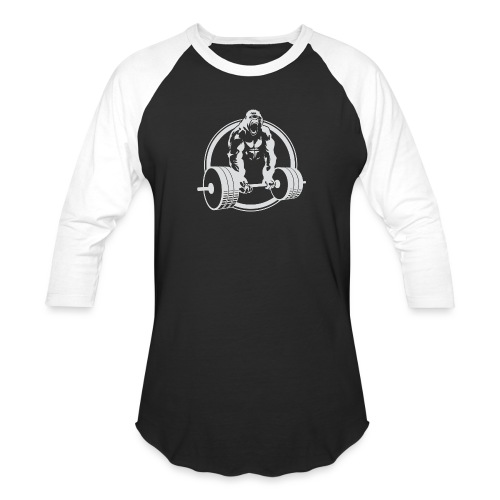 Gorilla Lifting Gym Fit - Baseball T-Shirt