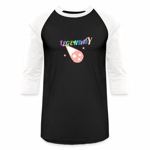 Legendary - Unisex Baseball T-Shirt