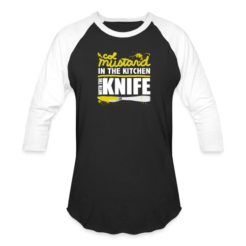 Colonel Mustard - Baseball T-Shirt