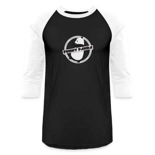 Funky Panda Logo - Unisex Baseball T-Shirt