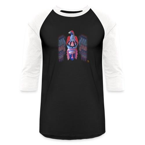 Acro Aztec - Unisex Baseball T-Shirt