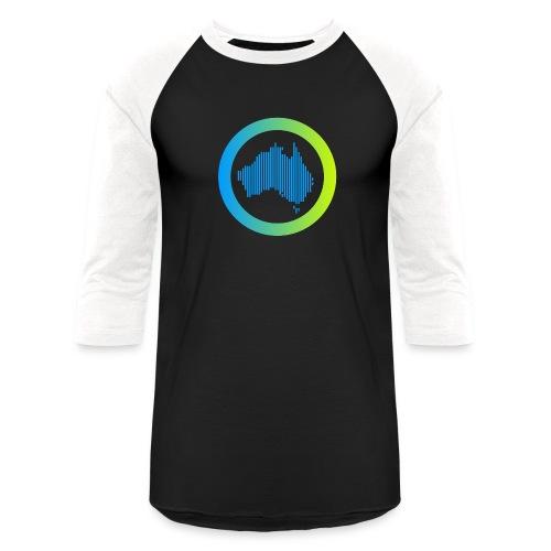 Gradient Symbol Only - Unisex Baseball T-Shirt