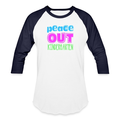 Kreative In Kinder Peace Out - Baseball T-Shirt