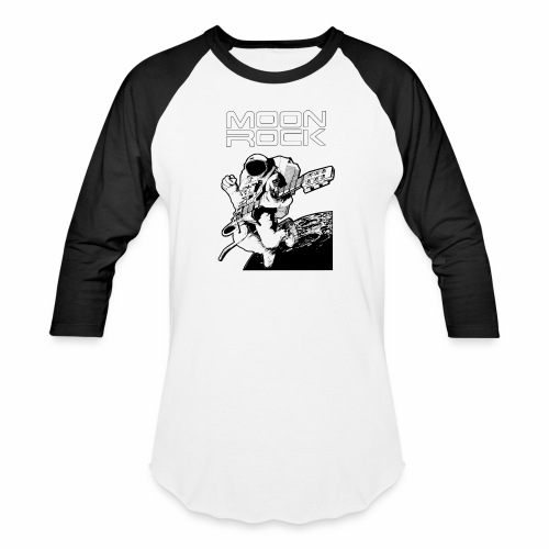 Classic Moon Rock - Baseball T-Shirt