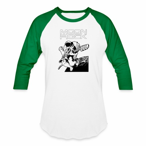 Classic Moon Rock - Unisex Baseball T-Shirt