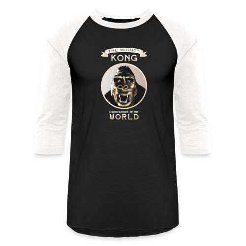Classic Kong - Unisex Baseball T-Shirt