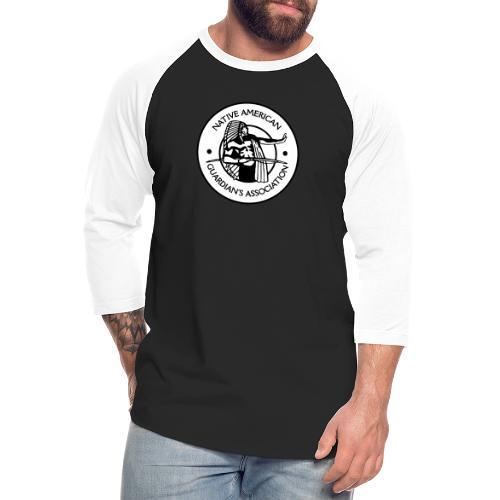 NAGA Logo - Unisex Baseball T-Shirt