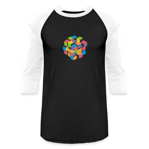 Rainbow T-shirt - It's complicated, isn't it? - Unisex Baseball T-Shirt