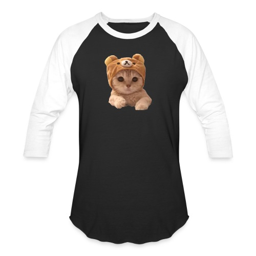 uwu catwifhat - Unisex Baseball T-Shirt