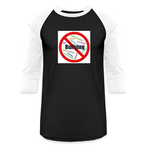 stop bully - Unisex Baseball T-Shirt