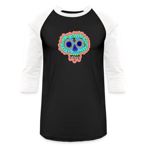 Hippy Día de Muertos - Unisex Baseball T-Shirt