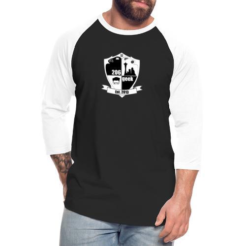 206geek podcast - Unisex Baseball T-Shirt