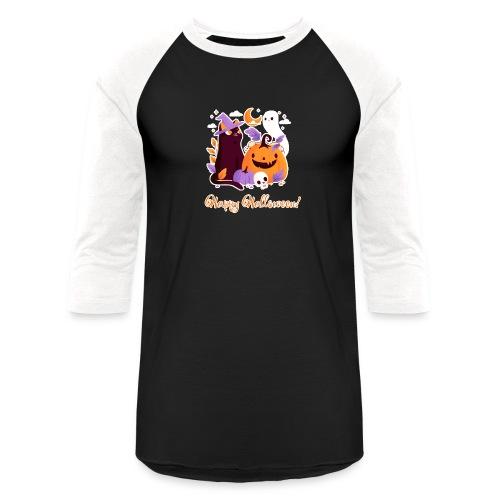 Halloween happy - Unisex Baseball T-Shirt
