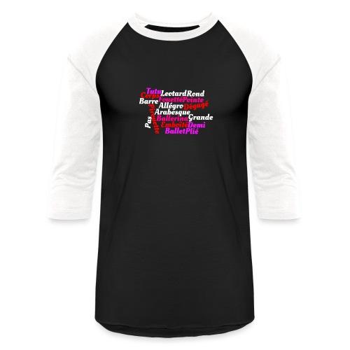 Ballet Art - Baseball T-Shirt