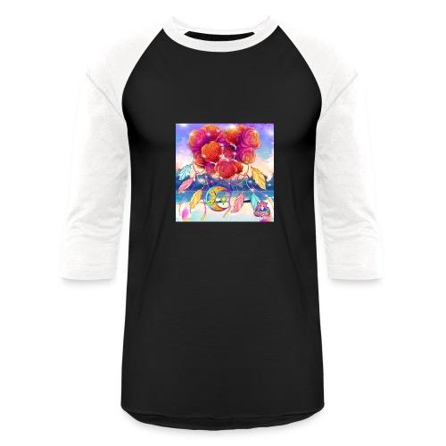 Roses of Love - Unisex Baseball T-Shirt