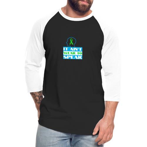 head space - Unisex Baseball T-Shirt