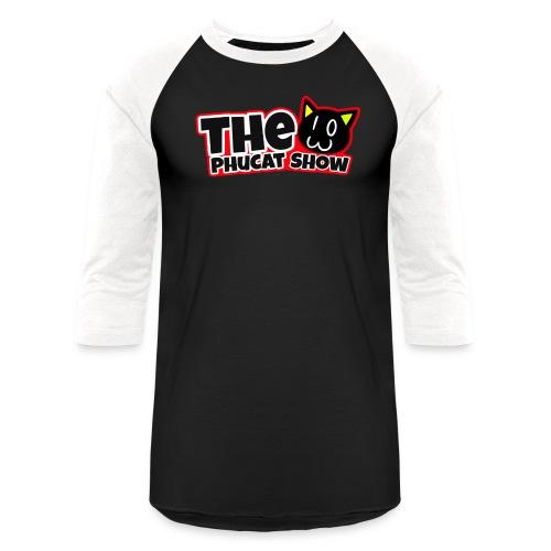 The PhuCat Show Logo 2 - Baseball T-Shirt