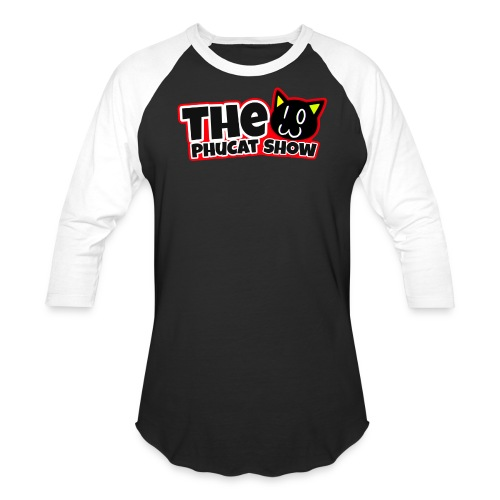 The PhuCat Show Logo 2 - Baseball T-Shirt