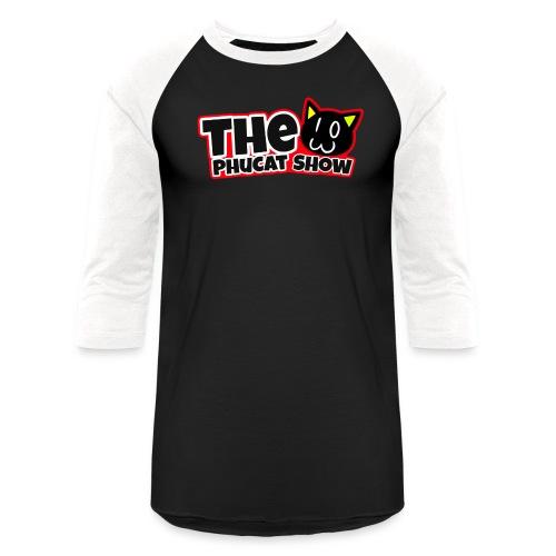 The PhuCat Show Logo 2 - Unisex Baseball T-Shirt