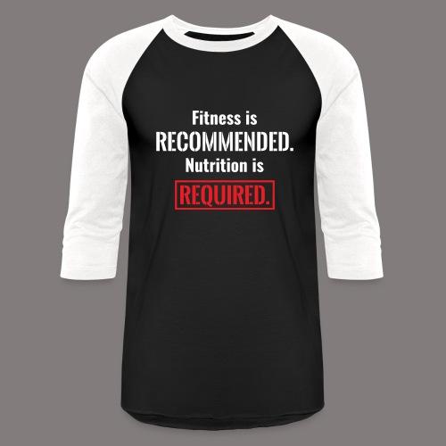 Mens_Nutrition - Unisex Baseball T-Shirt