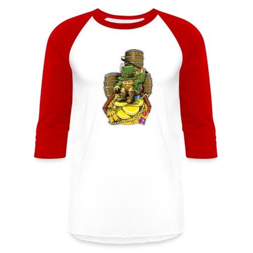 Angry Irish Leprechaun - Baseball T-Shirt