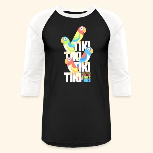 Tiki Room - Unisex Baseball T-Shirt