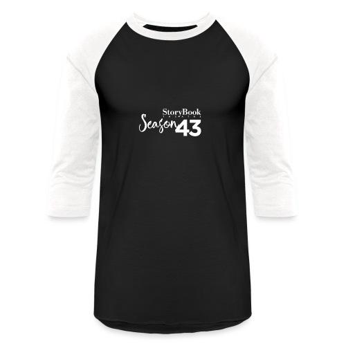SBT43 Season43 LOGO WHT - Baseball T-Shirt