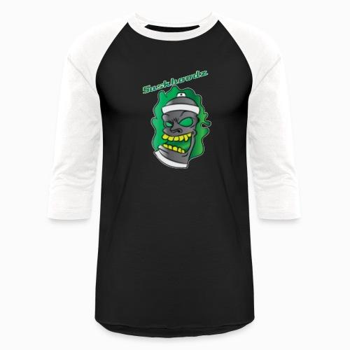 saskhoodz paint - Unisex Baseball T-Shirt