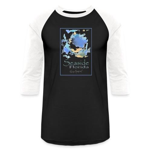 Seaside Shirt Design 5 - Unisex Baseball T-Shirt