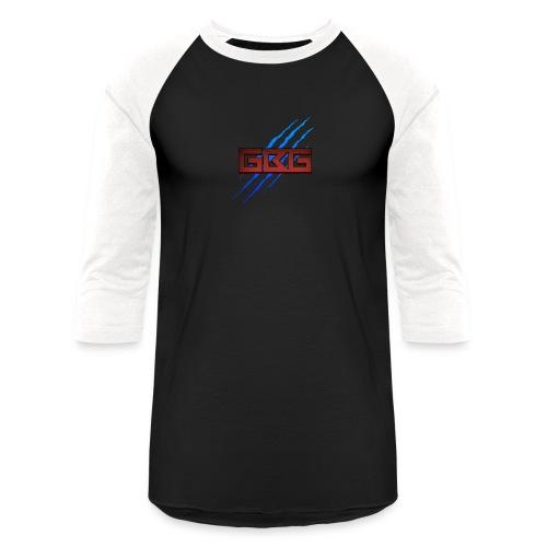 GBG Blue Slash - Baseball T-Shirt