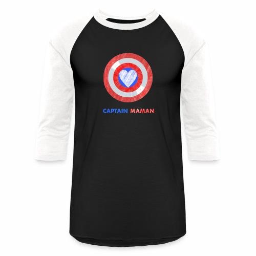 CAPTAIN MAMAN - Baseball T-Shirt