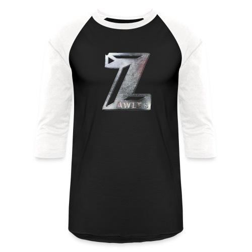 Zawles - metal logo - Unisex Baseball T-Shirt