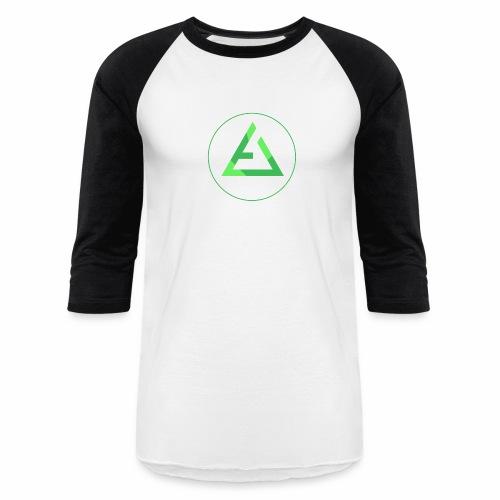 crypto logo branding - Baseball T-Shirt