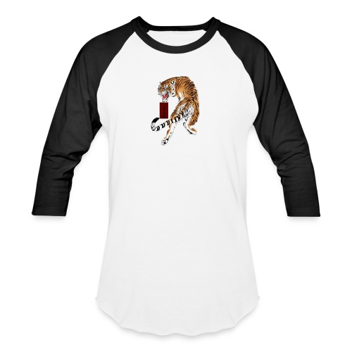 Beta12 / Japanese Tiger - Baseball T-Shirt