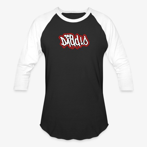 Daddio Tritone Wordmark - Baseball T-Shirt
