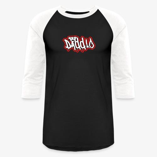 Daddio Tritone Wordmark - Unisex Baseball T-Shirt