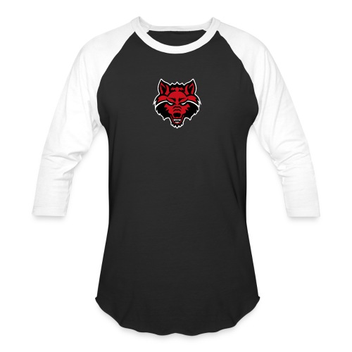 Red Wolf - Baseball T-Shirt