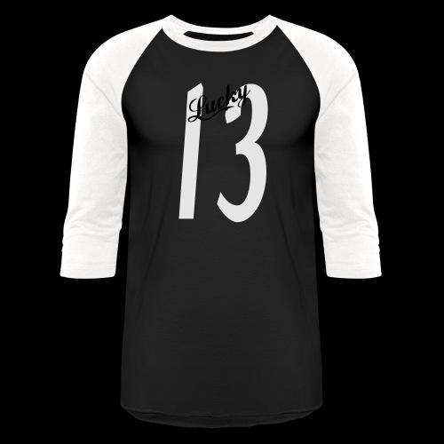 Lucky Thirteen - Unisex Baseball T-Shirt