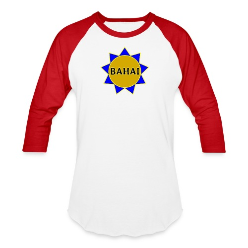 Bahai star - Baseball T-Shirt
