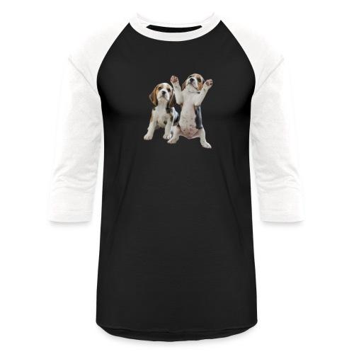 puppy - Unisex Baseball T-Shirt