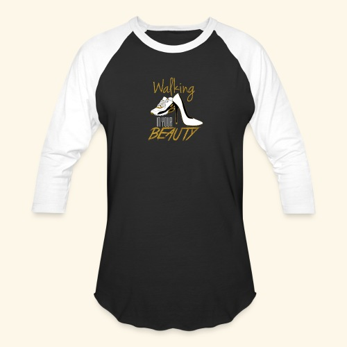 Walking in your Beauty tshirt - Baseball T-Shirt