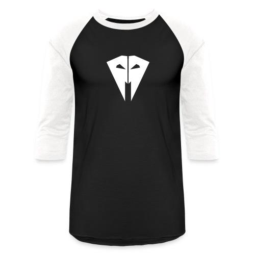 Evil Raven png - Unisex Baseball T-Shirt