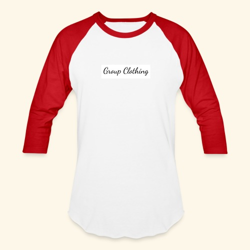 Cursive Black and White Hoodie - Unisex Baseball T-Shirt