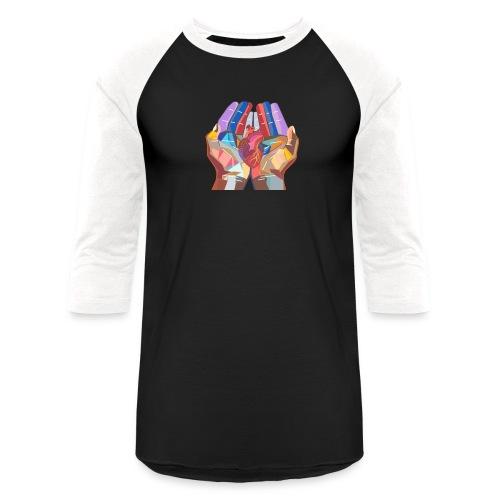 Heart in hand - Unisex Baseball T-Shirt