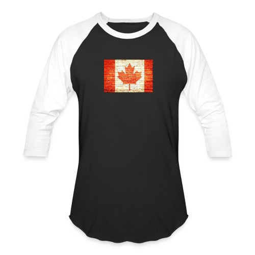 Canada flag - Baseball T-Shirt