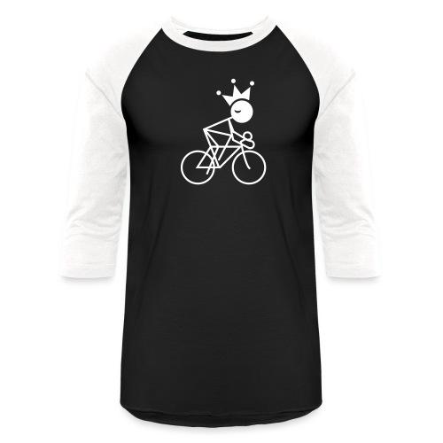 Winky Cycling King - Unisex Baseball T-Shirt