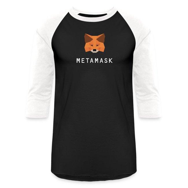 MetaMask Fox White Wordmark
