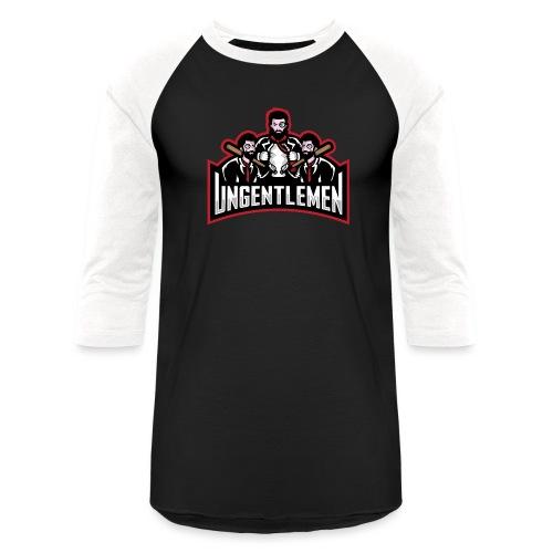 Ungentlemen Text Logo - Baseball T-Shirt